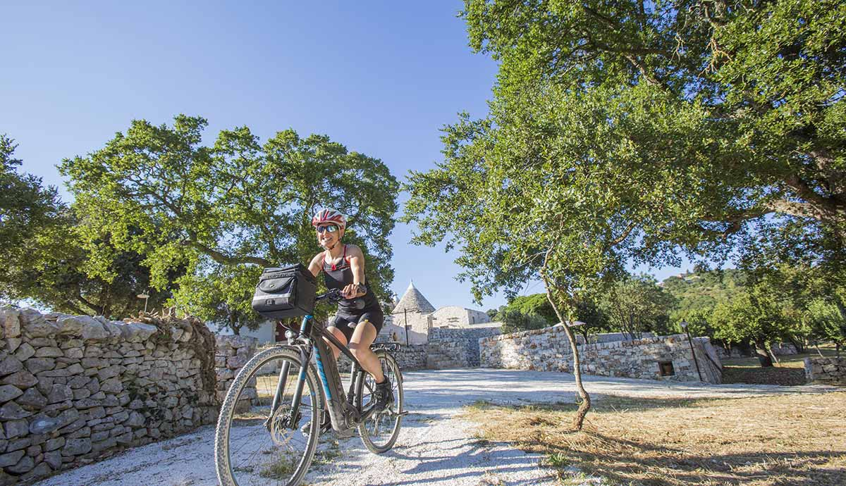 nights in trulli and bicycle rental
