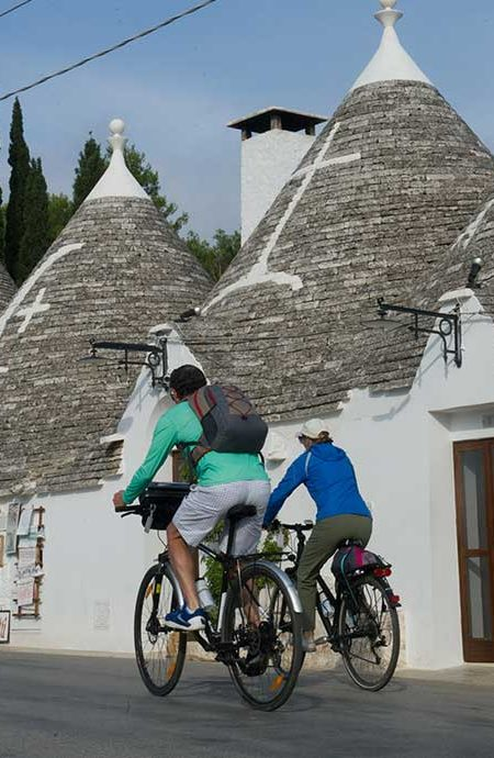Bike Tour Puglia 8 days Alberobello-Lecce