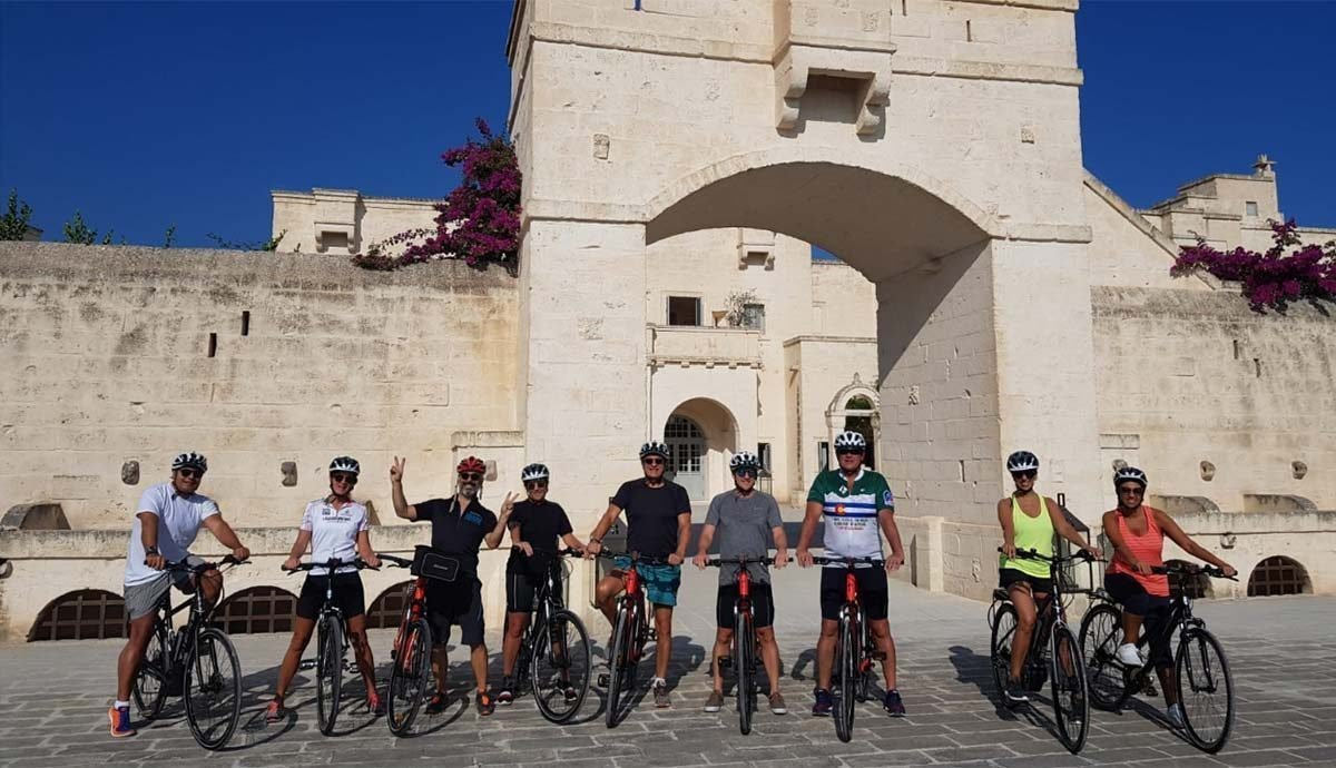Puglia Guided Bike Tour 8 days