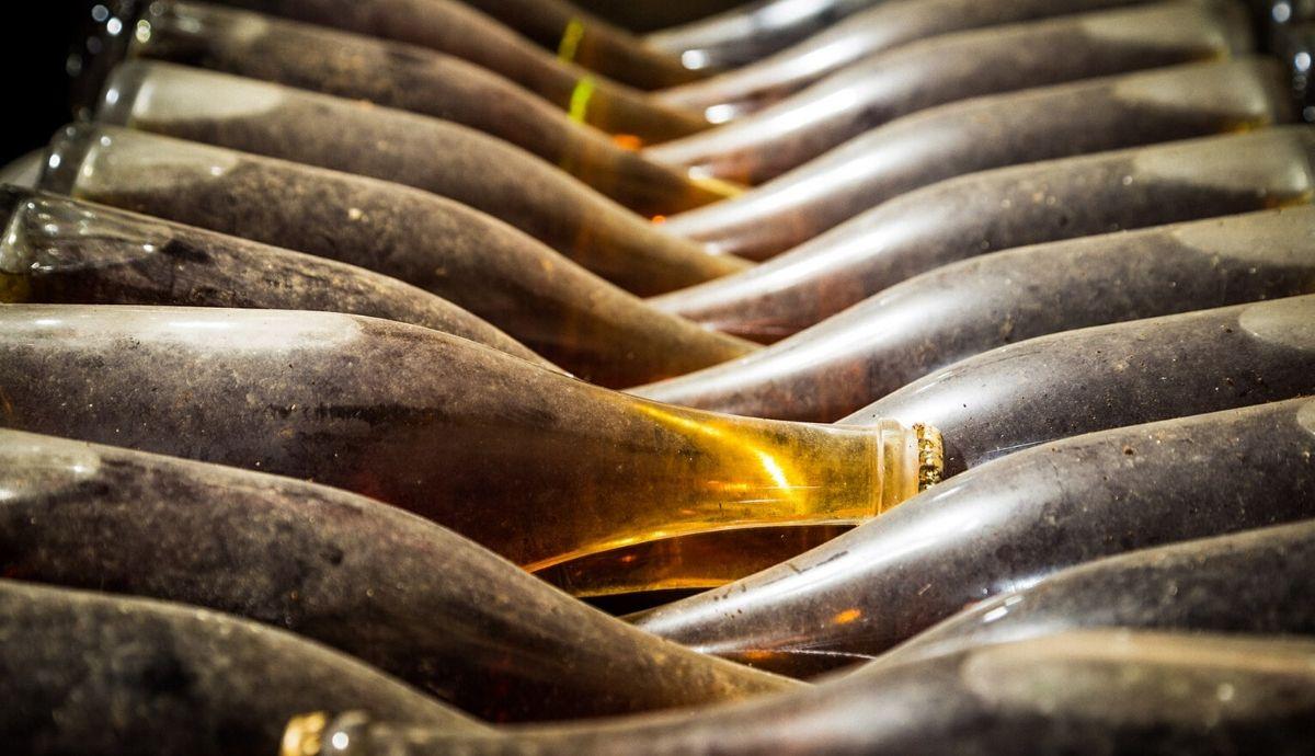 Puglia wine bottles